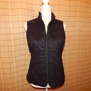 Eddie Bauer Embroidered Goose down vest - size M